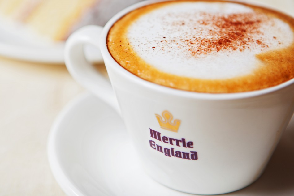 Graphic Design, Website Design & Marketing for Merrie England Coffee Shops