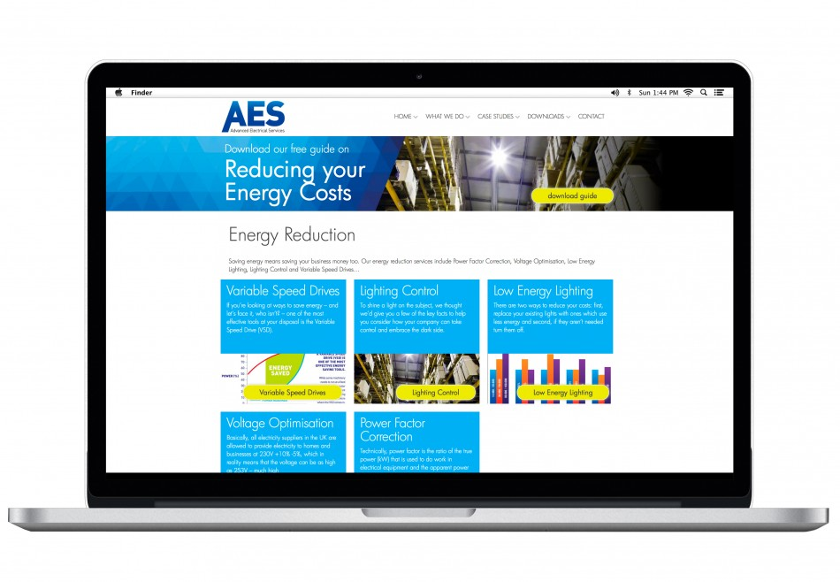 Graphic & Website Design & Marketing for Advanced Electrical Services