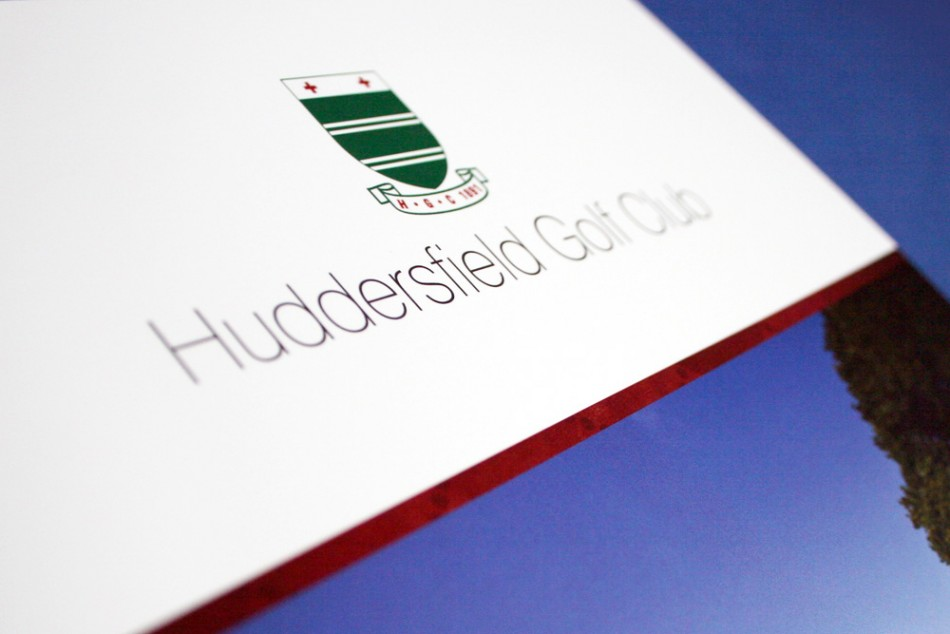 Graphic Design, Website Design & Marketing for Huddersfield Golf Club