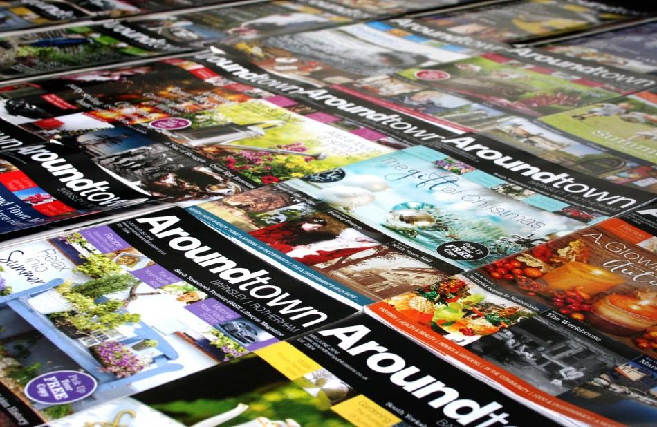 Graphic & Website Design & Marketing for Around Town