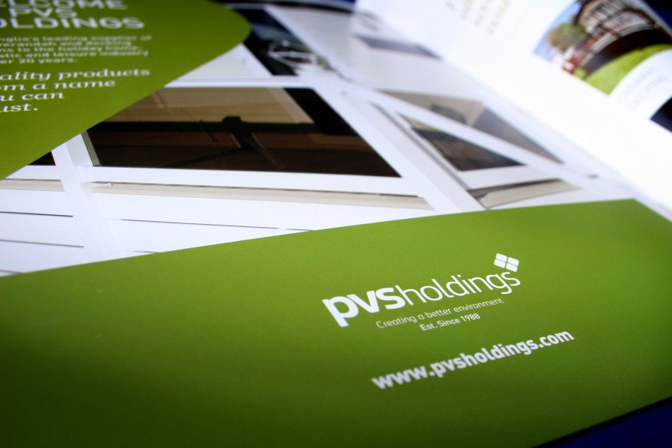 Graphic & Website Design & Marketing for PVS Holdings