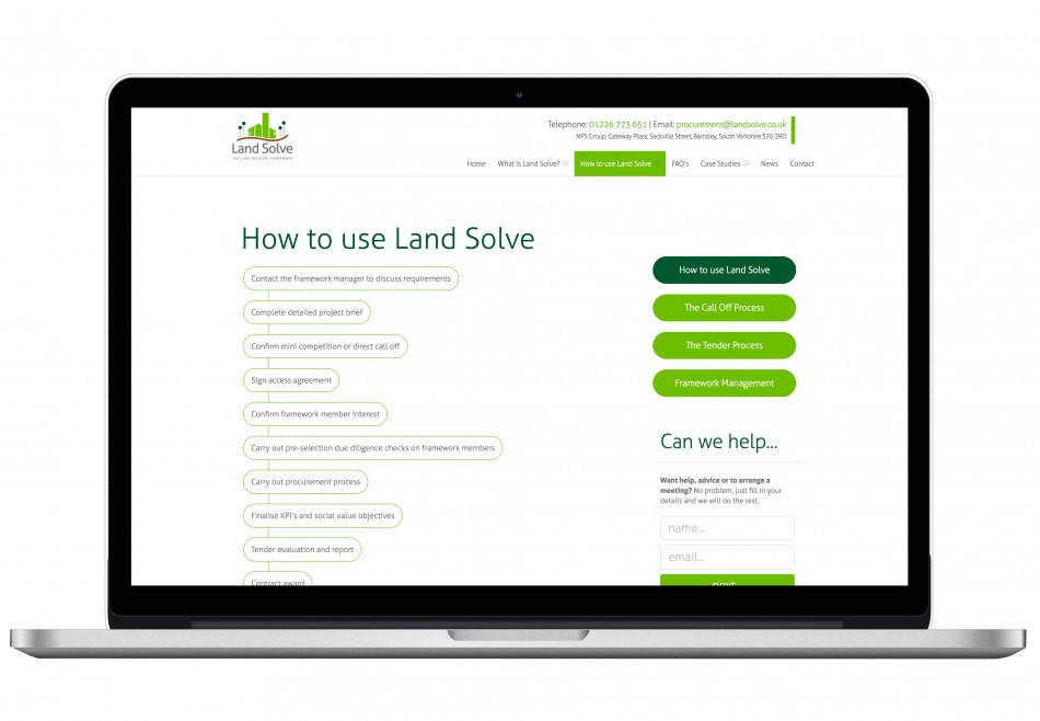 Graphic & Website Design & Marketing for Landsolve