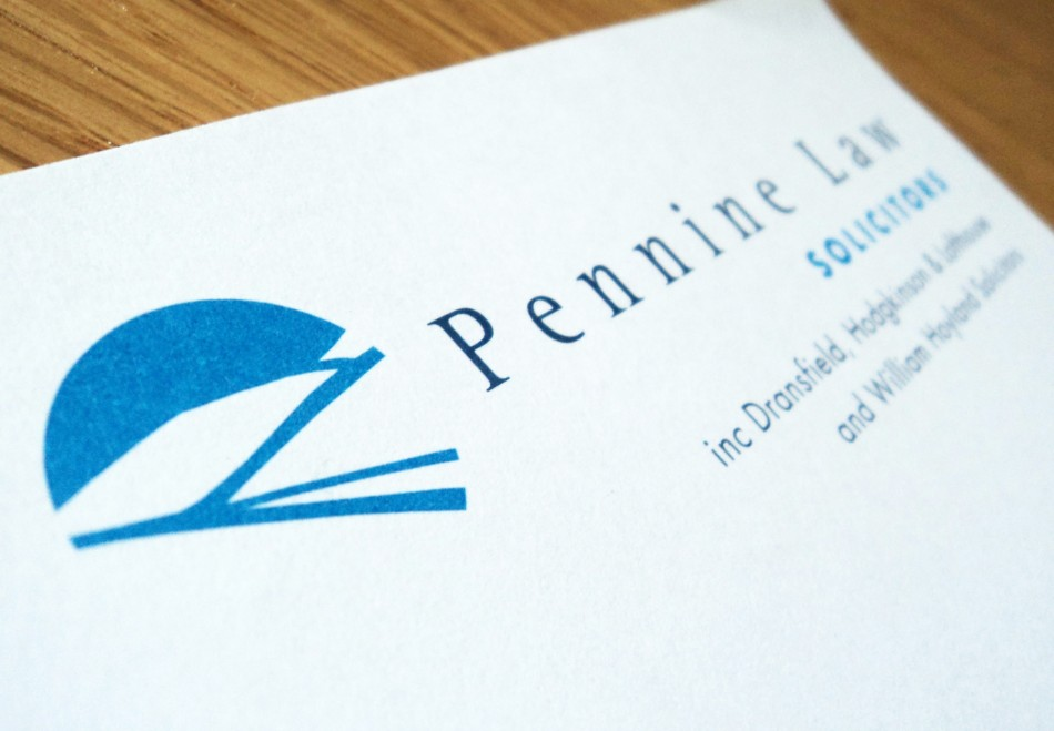 Graphic Design, Website Design & Marketing for Pennine Law Solicitors