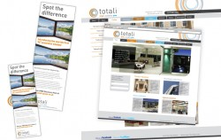 Totali Adverts and Website